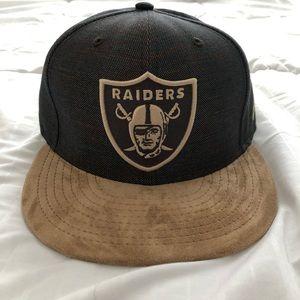 Raiders New Era SnapBack Hat!!